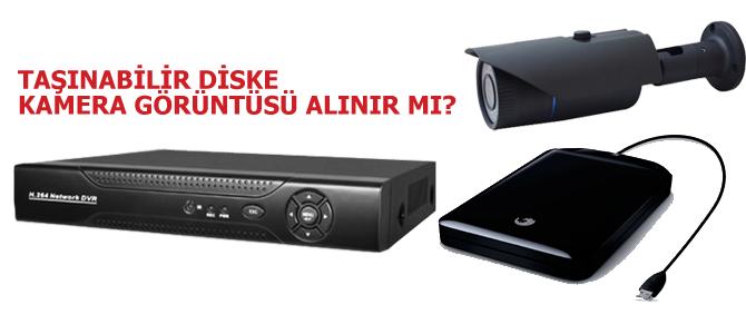 Taşınabilir Diske Kamera Görüntüsü Alınır mı ?