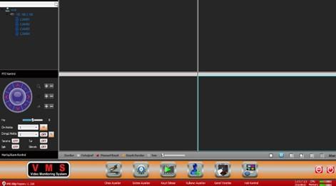 Topsview Yeni VMS İle Ağ Üzerinden izleme