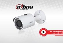 DAHUA IPC-HFW1220SP-0360B Perpa Üst Geçidi Demo Çekimi