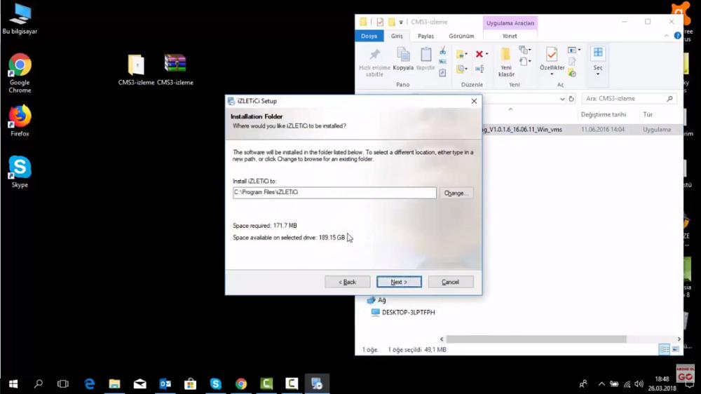Topsview Cihazları Network Ağ Üzerinden izleme
