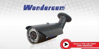 Wondercam-42B-1280VF AHD Kamera Demosu