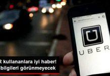 Uber Kullanıcılarına Sevindirici Haber